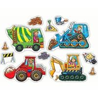 Orchard Toys Big Wheels Puzzle
