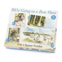 Paul Lamond 4-in-1 Were Going on a Bear Hunt Puzzle