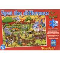 Paul Lamond Spot the Difference Dinosaur Park Puzzle