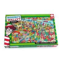 Paul Lamond Wheres Wally Jurassic Puzzle (100-Piece)