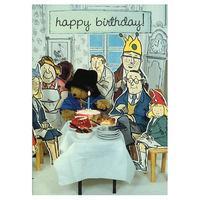 Paddington Bear Birthday Party Card