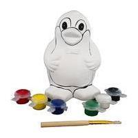 Paint Your Own Penguin Money Box 12 x 9 x 8 cm
