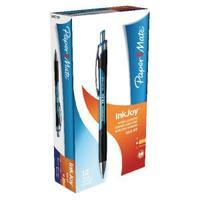 Papermate Inkjoy 550 Blue Ballpoint Pen Pack of 12 S0977220
