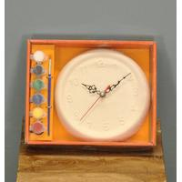 Paint Your Own Ceramic Clock by Premier