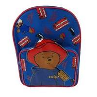 Paddington Bear Topper Pocket Children\'s Backpack, 35 Cm, 6 Liters, Blue