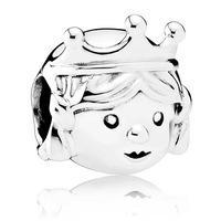 PANDORA Silver Little Princess Charm 791960