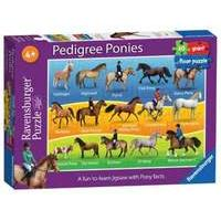 Pedigree Ponies Giant Floor Puzzle 60pc back