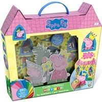 Peppa Pig Castle Art Mosiac