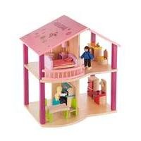Personalised Wooden Dolls House