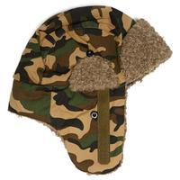 Peter Storm Kids\' Fur Trapper Hat - Camouflage, Camouflage