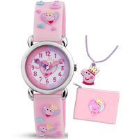 PEPPA PIG Kids Peppa Gift Set Watch
