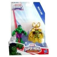 Playskool Heroes Super Hero Adventures Hulk And Loki