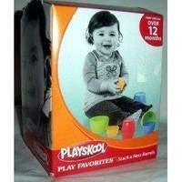 Playskool stack N nest barrells
