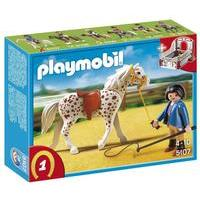 Playmobil Country Speckled Horse with Stall 5107
