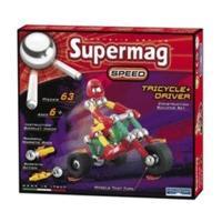 Plastwood Supermag Speed - Tricycle + Driver (0367)