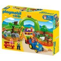 Playmobil 1.2.3 Large Zoo (6754)