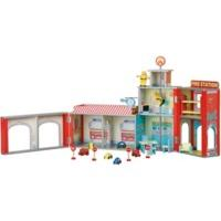 Plum Products Ingham Fire Station Play Set