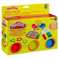Play Doh Shapes and Colour Fun Set