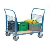 PLATFORM TRUCK with two mesh ends 1000 x700mm