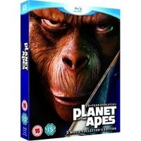 Planet of the Apes: 5-Movie Collector\'s Edition [Blu-ray] [1968]