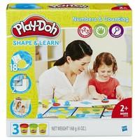 PLAY-DOH B34061020 Shape and Learn Numbers and Counting
