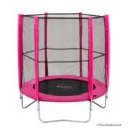 Plum Products 6ft Trampoline and Enclosure Pink
