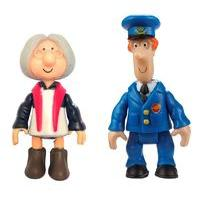 Postman Pat toys 2 Figure Pack - Pat and Mrs Goggins