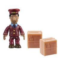 Postman Pat Figure & Accessory - Ajay and 2 Parcels