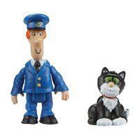 Postman Pat Figure & Accessory - Pat and Jess