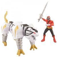 Power Rangers Super Samurai TigerZord with Red Ranger
