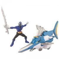 Power Rangers Super Samurai Swordfish Zord with Blue Ranger