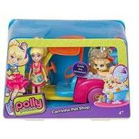 Polly Pocket - Little Vehicle With Dog (cfm52)