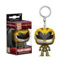 Power Rangers Movie Yellow Ranger Pocket Pop! Key Chain