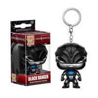 Power Rangers Movie Black Ranger Pocket Pop! Key Chain