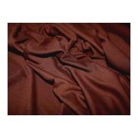 Ponte Roma Heavy Stretch Jersey Dress Fabric Brown