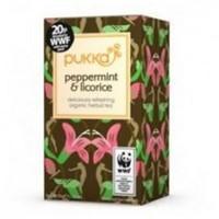 Pukka Herbs Original WWF Peppermint & Licorice Tea 20 Sachet