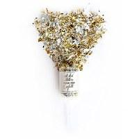 Push-Pop Confetti - Metallic Gold & Silver