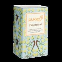 Pukka Three Fennel Tea 20 Tea Bags - 20 Tea Bags