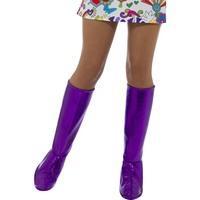 Purple Gogo Boot Covers