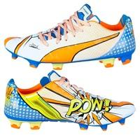 Puma evoPOWER 1.2 Graphic POP Firm Ground Football Boots White