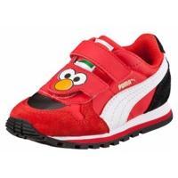 Puma St Runner Sesame Street Elmo Trainers - Boys - High Risk Red