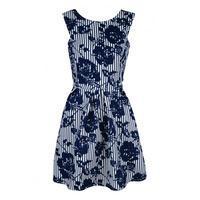 R1171 Monochrome Dress