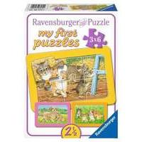 Ravensburger Puzzle - My First Puzzles My Favorite Pets (3x6pcs.) (06572)