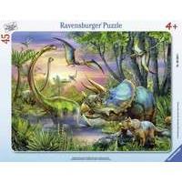 Ravensburger Puzzle Frame - Dinosaurs At Dawn (30-48pcs)