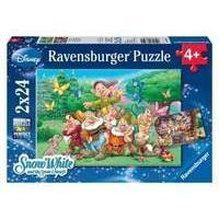 Ravensburger Disney Snow White & The Seven Dwarfs (2x24pcs.)
