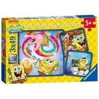Ravensburger Spongebob Squarepants 3x 49pc Jigsaw Puzzle