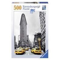 Ravensburger Puzzle - Flat Iron New York City (500pcs) (14487)