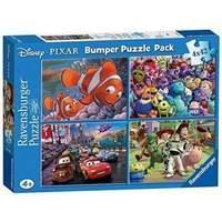 Ravensburger Disney Pixar 4 x 42 piece Bumper Puzzle Pack