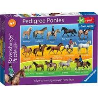 Ravensburger Pedigree Ponies Giant Floor Puzzle (60-piece)