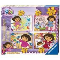 Ravensburger Dora The Explorer 4 In A Box Jigsaw Puzzles